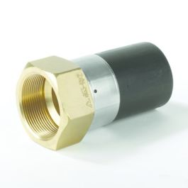"""Messing Adapter SDR11 32mm x 1"""" spie/ messing binnendraad"""