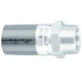 """Messing Adapter SDR11 32mm x 1"""" spie/ messing buitendraad"""