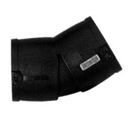 PE100 Knie SDR11 90mm 2x mof 30° zwart