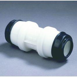 Hawle Rechte koppeling K 6320 25mm wit