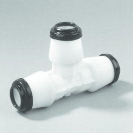 Hawle T-stuk nr. K 6555 25mm GAS 90° wit