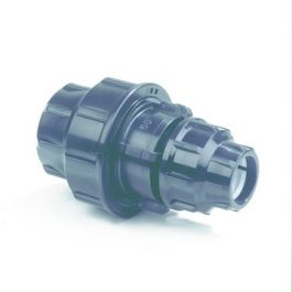 Plassim PP Verloop koppeling 20x16mm PN16 2x knel zwart
