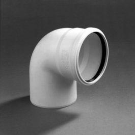 DykaStil Bocht 50mm mof/spie 87° wit