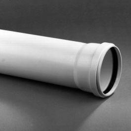DykaStil Buis 110x2,7mm mof/spie wit L=3m