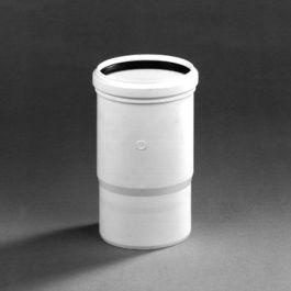 DykaStil Inbouwmof 110mm mof/spie wit