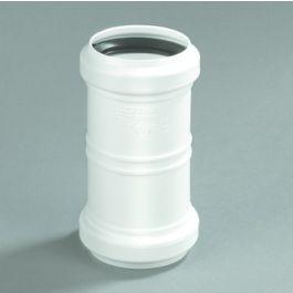 PP Overschuifmof 32mm 2x mof wit