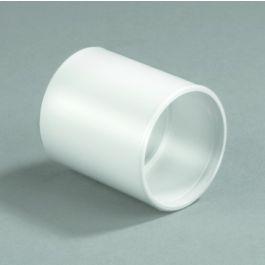 Steekmof 2 x mof,Hulpstukken, wit,Binnenriolering, PVC