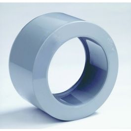 PVC Verloopring centrisch 40x32mm lijmmof/ spie grijs