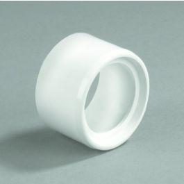 PVC Verloopring centrisch 50x40mm spie/ lijmmof wit