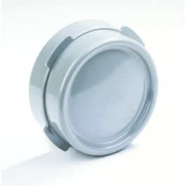 PVC Kombikap 125mm grijs