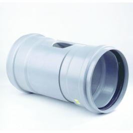 PVC Ontstoppingsstuk met schuifkap SN4 200mm 2x mof grijs