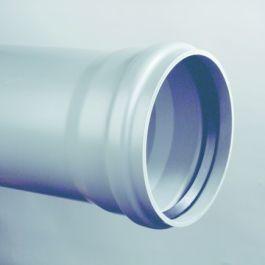 PVC-U3 Buis 250x7,3mm klasse 34/SN8 KOMO mof/spie grijs L=5m