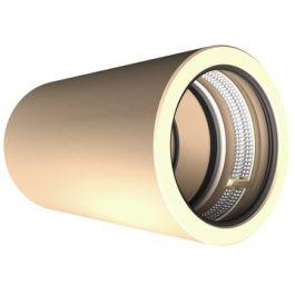 DykaGrip PVC-U Trekvaste koppeling PN10 90mm crème