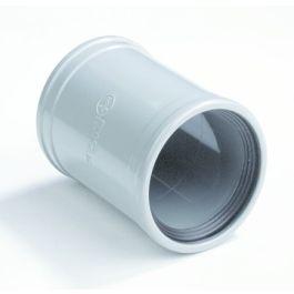PVC Steekmof 40mm 2x mof grijs