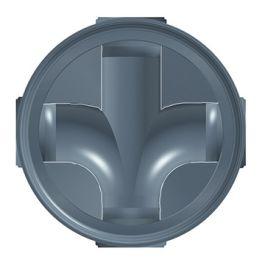 Axedo PP Inspectieput 600x160mm stroom X90°