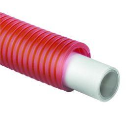 TECEflex Alupex Buis in schutmantel 16mm rood R=75m