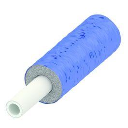 TECElogo Alupex Buis voorgeïsoleerd 6mm, 25mm blauw R=50m
