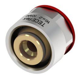"TECEflex MS Overgangskoppeling - Alupex buis 14mmx3/4"" knel/Euro-conus"