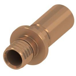 TECEflex Brons Overgangskoppeling 16mm x Cu15 pers/ soldeer knel