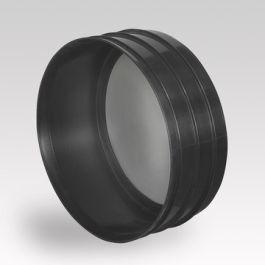 Ultra Kyma PP Afsluitkap DN300 mof zwart