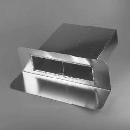 Vacurain Aluminium Noodoverlaat 200x100mm 90°