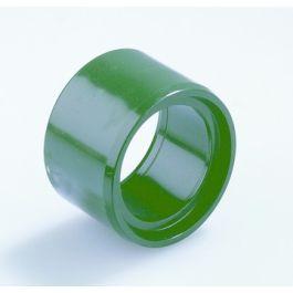 Vacurain PVC Slagvaste Verloopring centr 50x40mm spie/lijmmof groen