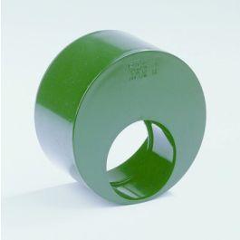 Vacurain PVC Slagvaste Verloopring exce 63x40mm spie/lijmmof groen