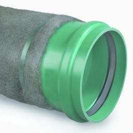 Duborain PVC IT Buis 200x5,9mm met Ekomat1000 SN8 groen L=5m