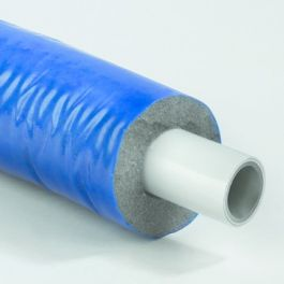 Henco Alupex Sandwichbuis 6mm voorgeïsoleerd 26x3,0mm blauw R=25m