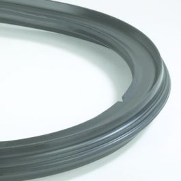 EPDM Rubberen ring t.b.v. ophoogstuk DN600 zwart