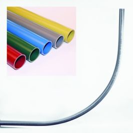 PVC Invoerbocht tbv Elektra 50mm rood L=2800mm R=500mm