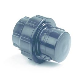 Plassim PP Afsluitkap PN16 25mm knel zwart