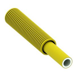 TECEflex Alupex Buis in schuifmantel 16mm GAS geel R=50m