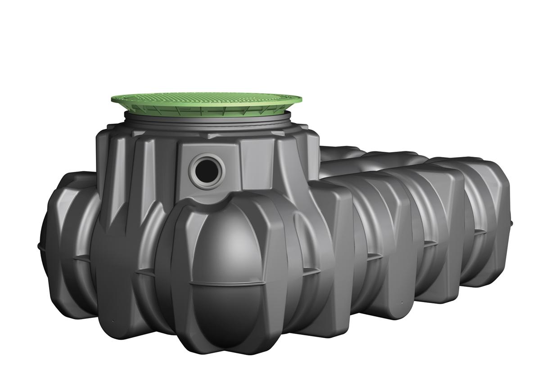 Regenwatertanks voor groenzones, voor kleine toepassingen